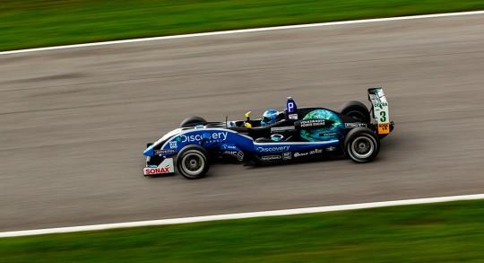 Dennis van der Laar beim Formel3 Rennen in Spielberg