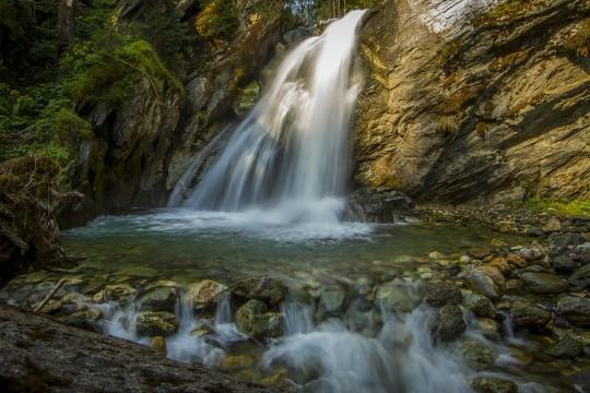 Wasserfall in Aschau in Kirchberg in Tirol