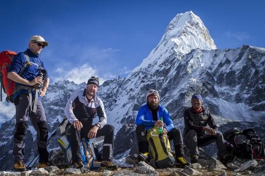 Expediton zur Ama Dablam in Nepal im Oktober 2014.
